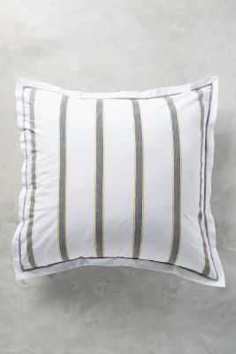 Salento Striped Euro Sham - Anthropologie