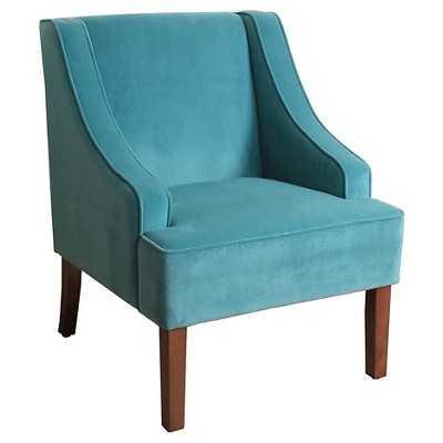 Velvet Swoop Arm Chair - Target