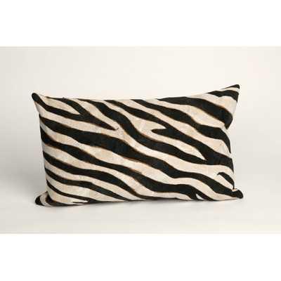 Visions I Zebra Lumbar Pillow - Wayfair