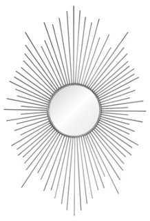 Wendy Oversize Mirror, Silver Leaf - One Kings Lane
