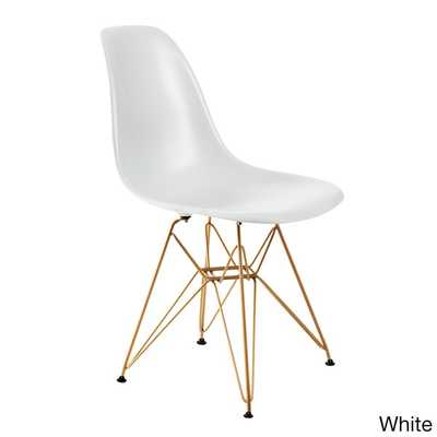 American Atelier Living Banks Chair - White - Overstock