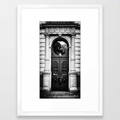 Old door - 20x26 - Framed - Society6