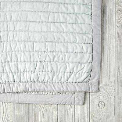 Cotton Candy Quilt (Mint) - Land of Nod