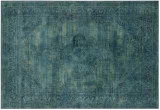 Medlin Rug, Turquoise/Multi - One Kings Lane