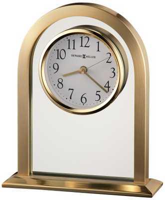 "Howard Miller Imperial 7 1/2"" High Table Clock - Lamps Plus"