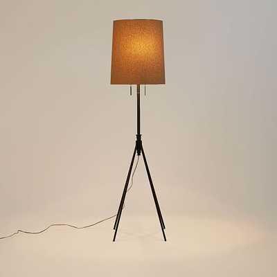 Adjustable Metal Floor Lamp - Bronze - West Elm