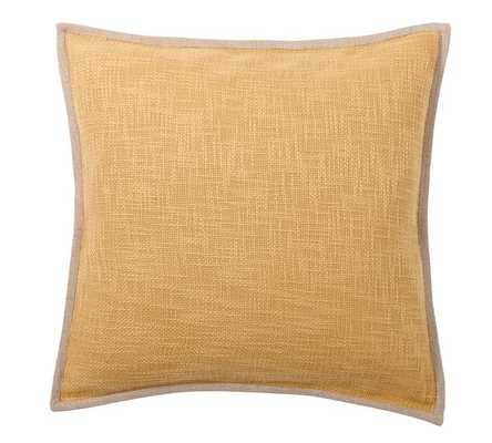 BASKETWEAVE PILLOW COVER - Pottery Barn