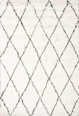 Tuscan Moroccan Shag Rug with Pad - Rugs USA