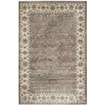 Persian Garden Gray/Ivory Area Rug by Darby Home Co - AllModern