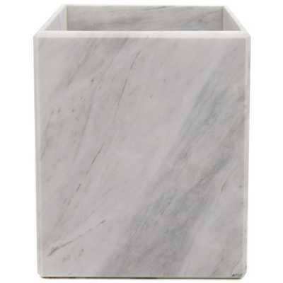 Luna Marble Waste Can - AllModern