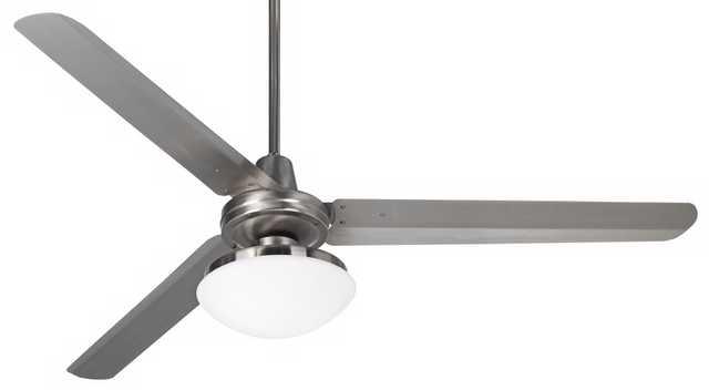 """60"""" Casa Turbinaâ""""¢ Opal Glass Industrial Ceiling Fan - Lamps Plus"""