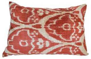 Ferah Silk-Blended Pillow - One Kings Lane