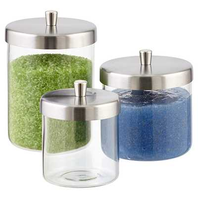 Small Apothecary Jar Clear - containerstore.com