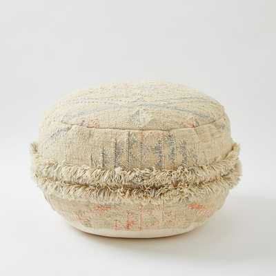 Sahara Wool Pouf - West Elm