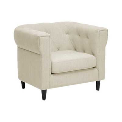 Cortland Club Arm Chair in Beige - AllModern