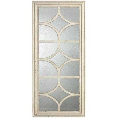 A & B Home Group Mirror - Ivory - Wayfair