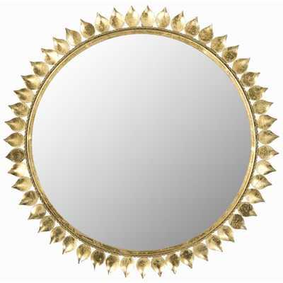 Safavieh Leaf Crown Sunburst Mirror - Wayfair