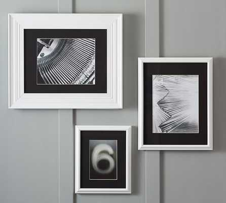 GALLERY IN A BOX BLACK MATS - ELIZA FRAMES - Pottery Barn