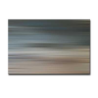 "'Blur Stripes XXII' Wall Art on Canvas -30""x40""-Unframed - AllModern"