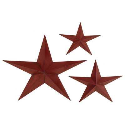 3 Piece Star Wall Décor Setby Aspire - Wayfair