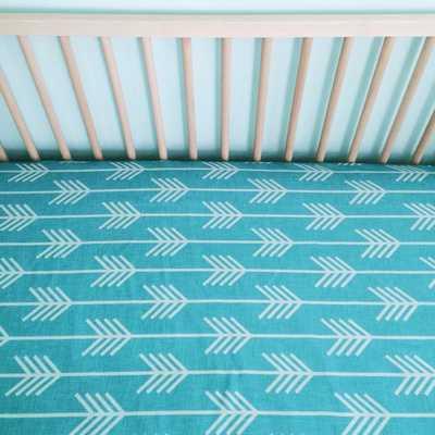Crib Sheet Marine Arrow - Etsy