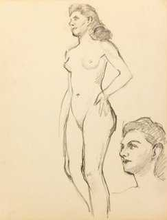 Nude, C. 1940 - One Kings Lane