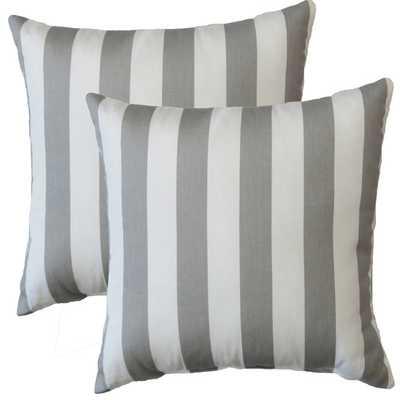 Premiere Home Stripes Throw Pillow - AllModern