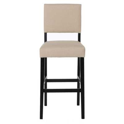 Christopher Knight Home Cameron Fabric Barstool (Set of 2) - Latte Tan - Overstock