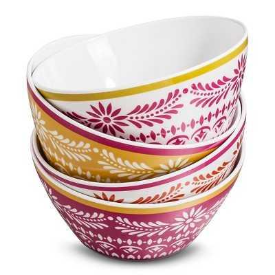 Mudhut Marika Bowls Set of 4 - Target