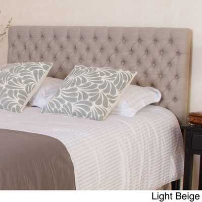 Christopher Knight Home Jezebel Adjustable Full/ Queen Button Tufted Headboard - Overstock