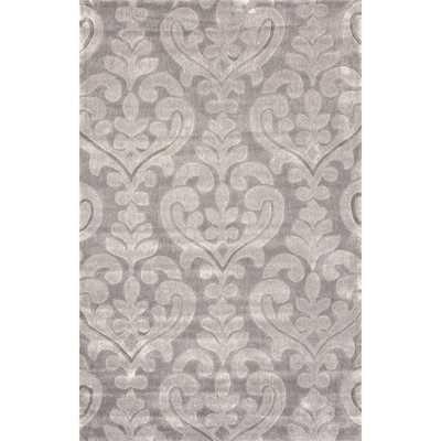 nuLOOM Handmade Modern Damask Rug - Overstock