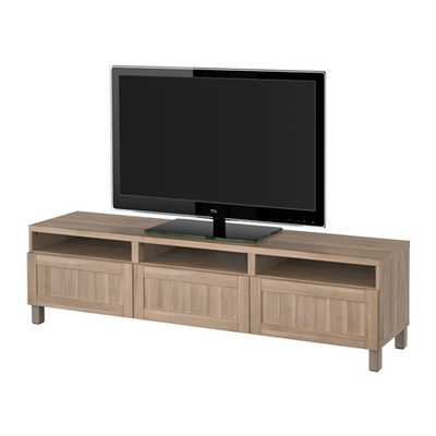 BESTÃ… TV unit with drawers - Ikea