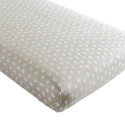 Freehand Fitted Crib Sheet - Land of Nod
