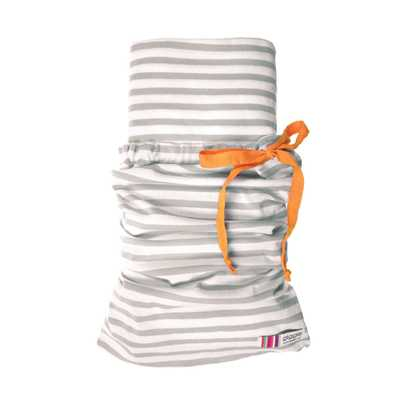 giggle Better Basics Fitted Striped Crib Sheet - (Organic Cotton) - Giggle