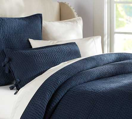 PICK-STITCH QUILT - Pottery Barn