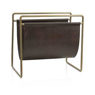 Galen Magazine Rack - Crate and Barrel
