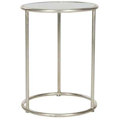 Safavieh Treasures Shay Silver/ Grey Top Accent Table - Overstock