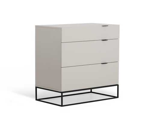 MODREST HERA MODERN GREY DRESSER - furniture.com