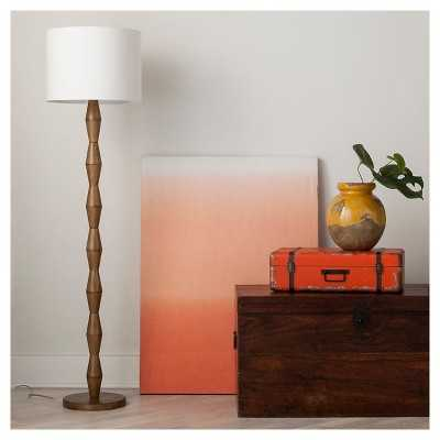 Nixon Floor Lamp Walnut - Target