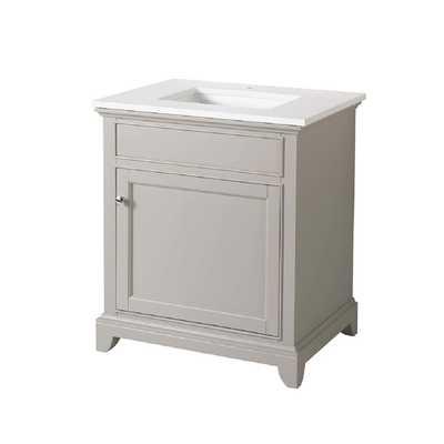 "Stufurhome Arianny Bathroom Vanity, 25"" - Houzz"