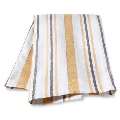 Kitchen Towel Yellow Basket Weave - Target