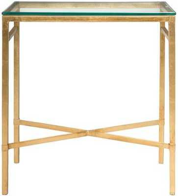Viggo Chairside Table Gold - Domino