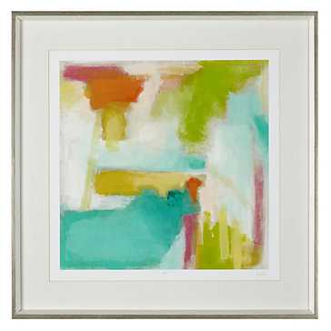 Color Space 2 - Limited Edition - 29.25''W x 29.25''H - Silver frame with mat - Z Gallerie