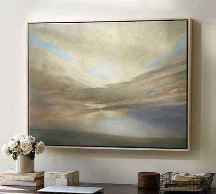 "September Giclee Canvas - 36.75"" wide x 27.75"" high - Framed - Pottery Barn"