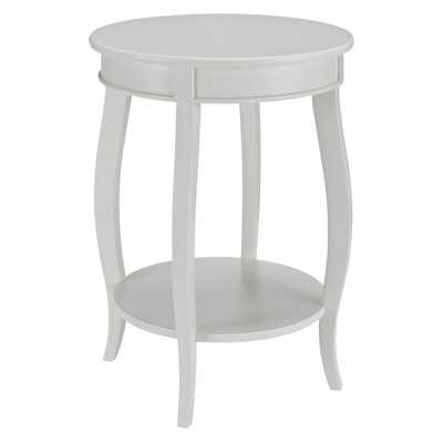 Powell Round Table With Shelf - Target
