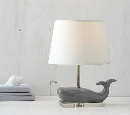 Ceramic Whale Complete Lamp - Pottery Barn Kids