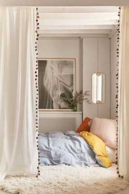 Magical Thinking Pompom Curtain- 52X84 - Urban Outfitters