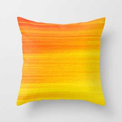 "THROW PILLOW	/ INDOOR COVER (18"" X 18"") WITH PILLOW INSERT - Society6"