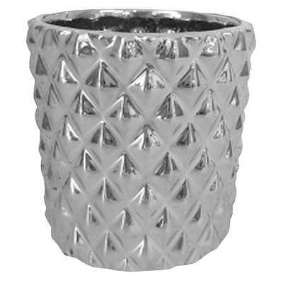 "Ceramic Textured Votive Gold - Thresholdâ""¢ - Target"