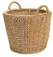 """English Rattan Towel Basket, 22"""" - One Kings Lane"""